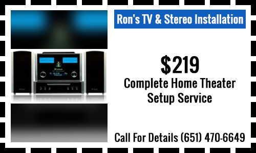 $219 Complete Home Theater Setup Service