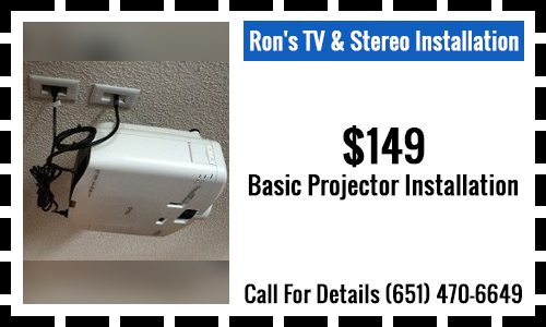 $149 Basic Projector Installation