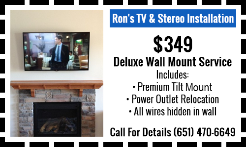 $349 Deluxe Wall Mount Service